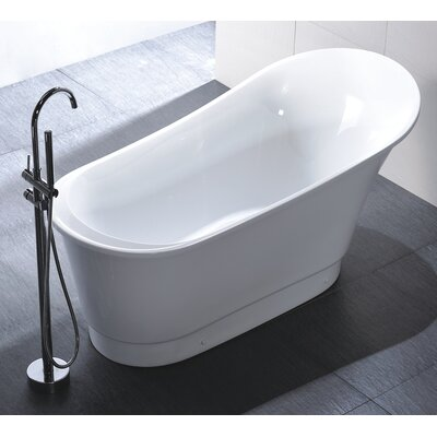 "67"" x 31.5"" Soaking Bathtub Product Photo"