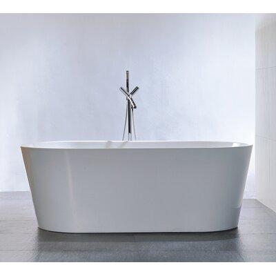 "67.7"" x 32"" Soaking Bathtub Product Photo"