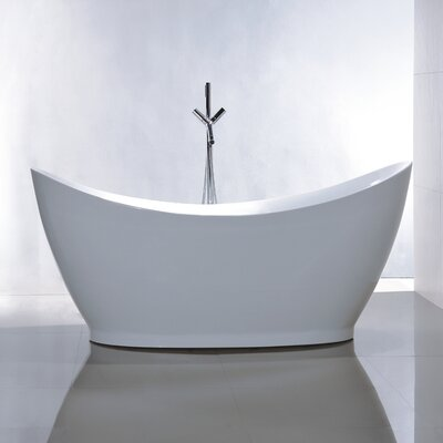 "67.7"" x 31.5"" Soaking Bathtub Product Photo"