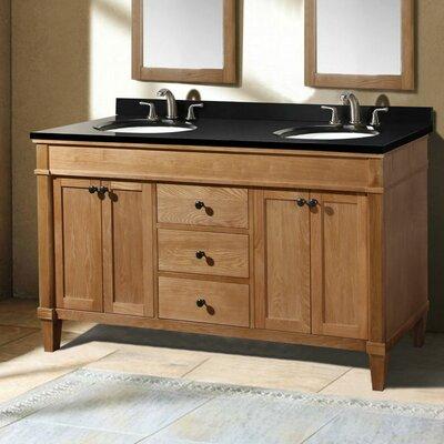 "61"" Double Bathroom Vanity Set Product Photo"