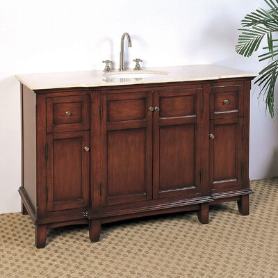 "Hatherleigh 53"" Single Chest Bathroom Vanity Set Product Photo"