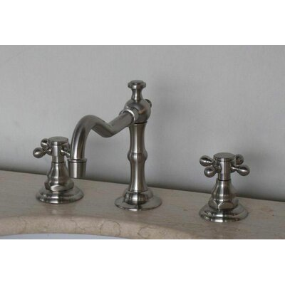 Widespread Faucet with Double Cross Handles Product Photo
