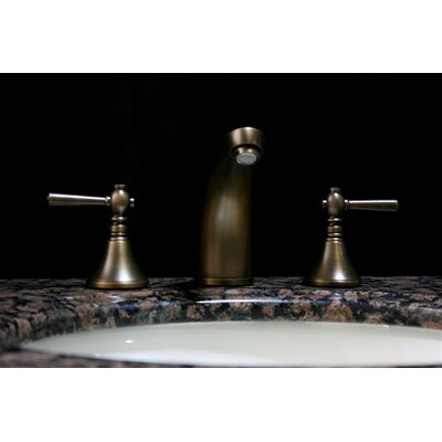 Widespread Bathroom Faucet with Double Handles Product Photo