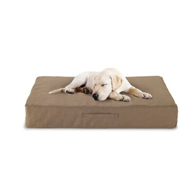 Buddy Beds Luxury Memory Foam Dog Bed with Microfiber Cover