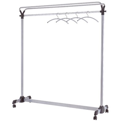 "62.99"" H x 7.87"" W x 6.3"" D Garment Rack Product Photo"