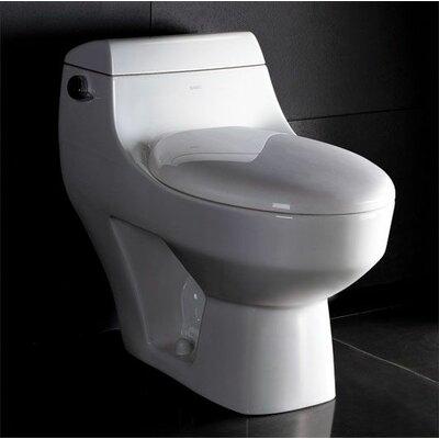 1.28 GPF Elongated 1 Piece Toilet Product Photo