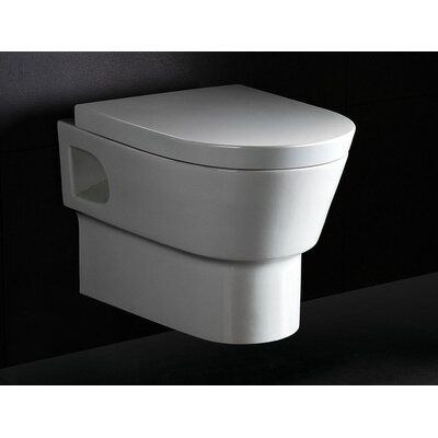 Square Modern Dual Flush Elongated Toilet Product Photo