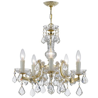 Maria Theresa 5 Light Mini Chandelier Product Photo