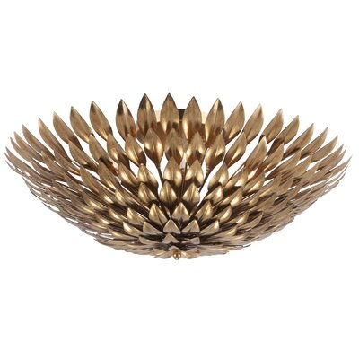 Broche 6 Light Semi Flush Mount Product Photo