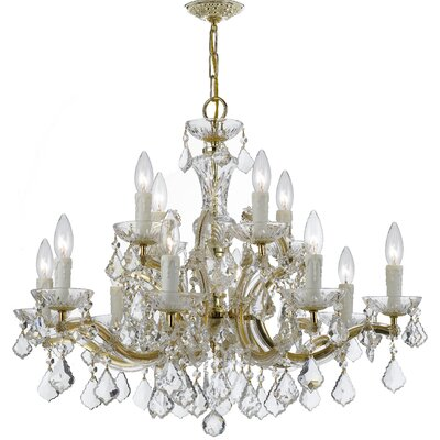 Maria Theresa 12 Light Crystal Chandelier Product Photo