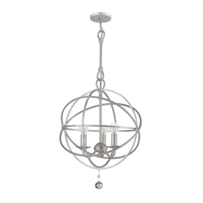 Solaris 3 Light Mini Chandelier Product Photo