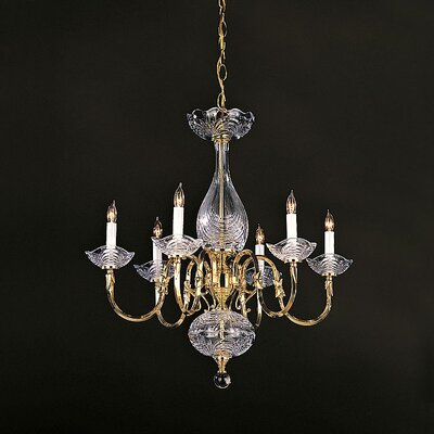 Historical Brass  Chandelier in Polished Brass Product Photo