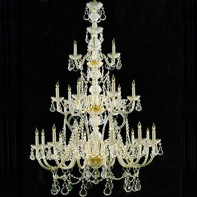 Traditional Crystal 12 Light Chandelier by Crystorama