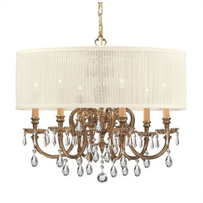 Brentwood 6 Light Chandelier by Crystorama