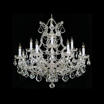 Maria Theresa 12 Light Chandelier by Crystorama