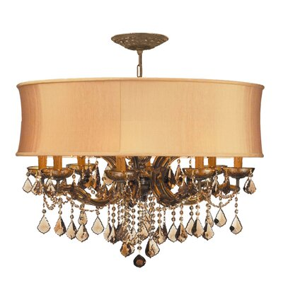 Brentwood 8 Light Chandelier by Crystorama