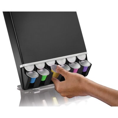 nespresso 42 capsule dispenser wayfair. Black Bedroom Furniture Sets. Home Design Ideas