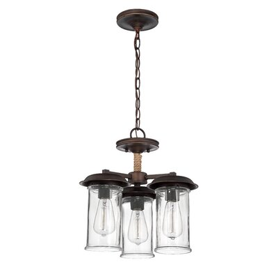 Thornton 3 Light Semi Flush Mount Product Photo
