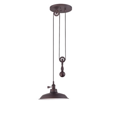 Pulley 1 Light Mini Pendant Product Photo