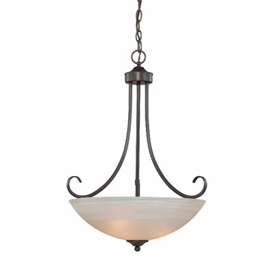 Raleigh 3 Light Chandelier Product Photo
