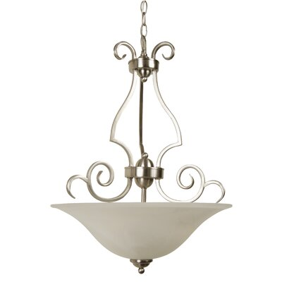 Jeremiah Builder 3 Light Bowl Flush Mount