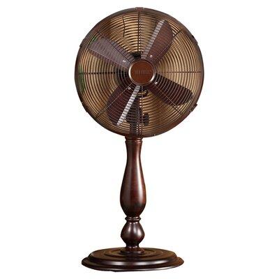 """Deco Breeze Sutter 12"""" Oscillating Table Fan"""