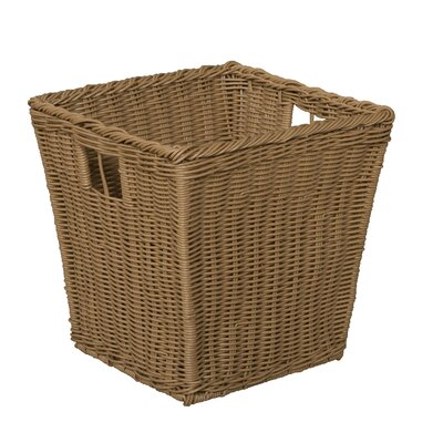 Wood Designs Wicker Basket in Brown
