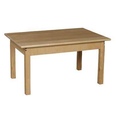 Wood Designs Rectangular Classroom Table Kids Table 823