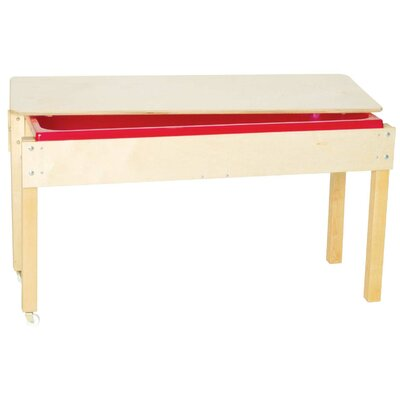 Wood Designs Sand and Water Table with Top