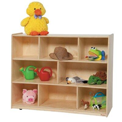 Wood Designs Tip-Me-Not Single Storage Unit with Hardboard Back