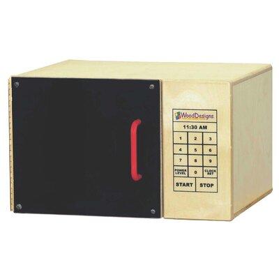 Wood Designs Microwave