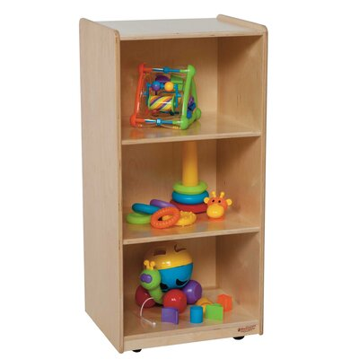 "Wood Designs Mobile Mini 36"" Standard Bookcase"