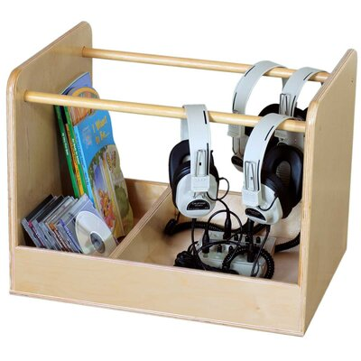 Wood Designs Audio Storage Unit