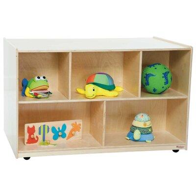 "Wood Designs 30"" x 48"" Mobile Double Storage Island"
