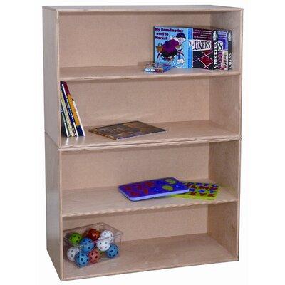 Wood Designs Two Shelf Modular Storage Unit