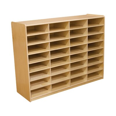 Wood Designs 32 Compartment Cubby
