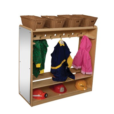 Wood Designs Environment Mobile Double Sided Locker