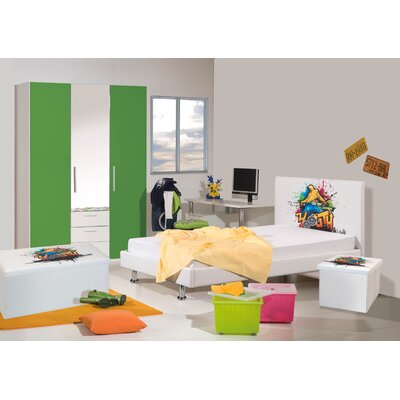 Modular Kinderschlafzimmerserie Graffiti