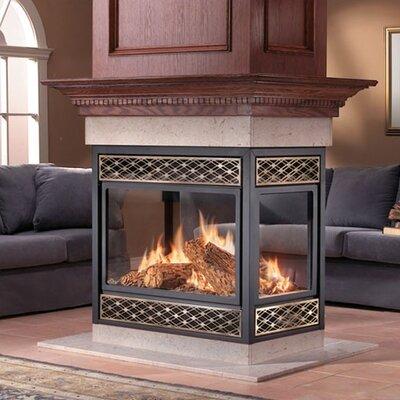 Napoleon Island Natural Vent Gas Fireplace Reviews Wayfair