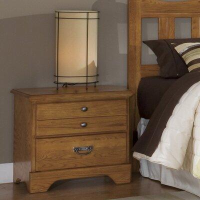 Creek Side 2 Drawer Nightstand by Carolina Furniture Works, Inc.
