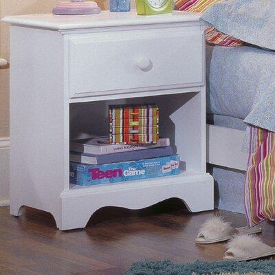 Carolina Furniture Works, Inc. Carolina Cottage 1 Drawer Nightstand Nightstand 412100