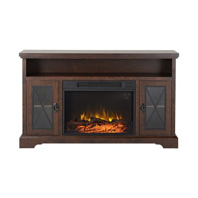 Padova TV Stand with Electric Fireplace by Homestar