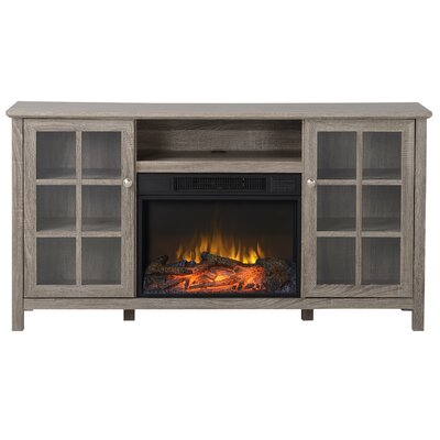 Provence TV Stand with Electric Fireplace by Homestar