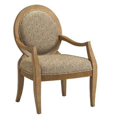 Emerson Chenille Arm Chair by Comfort Pointe
