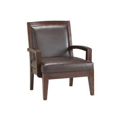 Fowler Vinyl Arm Chair by Comfort Pointe