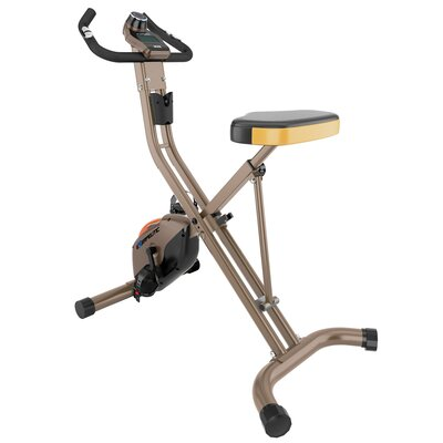500 XLS Foldable Magnetic Upright Bike by Exerpeutic