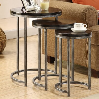 3 Piece Nesting Tables by Coast to Coast Imports