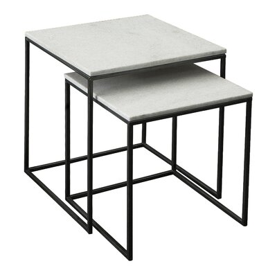2 Piece Nesting Tables by Coast to Coast Imports