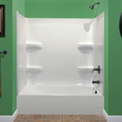 "Deluxe 75"" x 54"" Soaking Bathtub Product Photo"