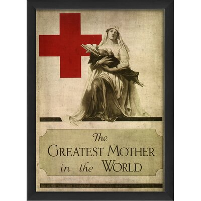 Greatest Mother in the World Framed Vintage Advertisement by The Artwork Factory